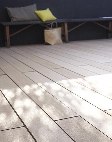 Votre terrasse en bois brut