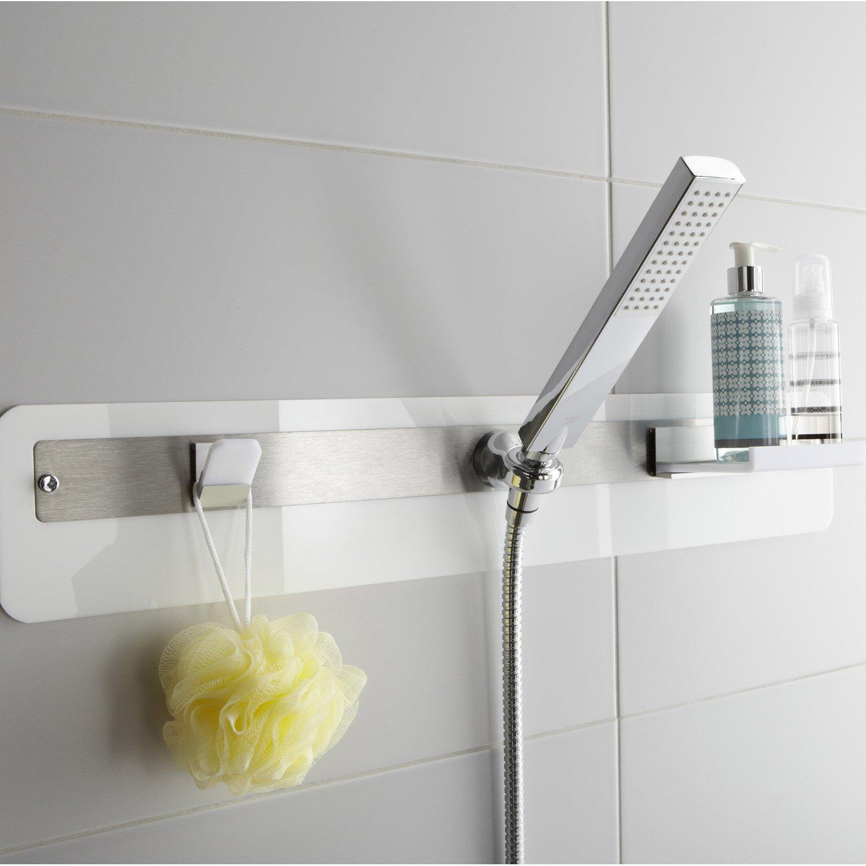 ensemble de douche 1 jet sensea buzz blanc leroy merlin. Black Bedroom Furniture Sets. Home Design Ideas