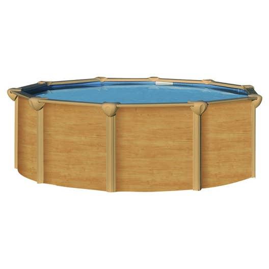 Piscine hors sol acier osmose luxe trigano diam x h for Video montage piscine hors sol acier trigano