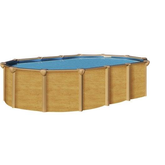 Piscine hors sol acier osmose l 6 4 x l 3 9 x h m for Echelle piscine hors sol 1 32