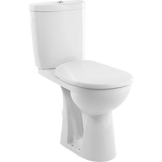 Pack WC à poser sortie horizontale, SENSEA Remix surélevé