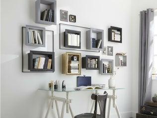 comment monter une tag re sur tasseaux leroy merlin. Black Bedroom Furniture Sets. Home Design Ideas