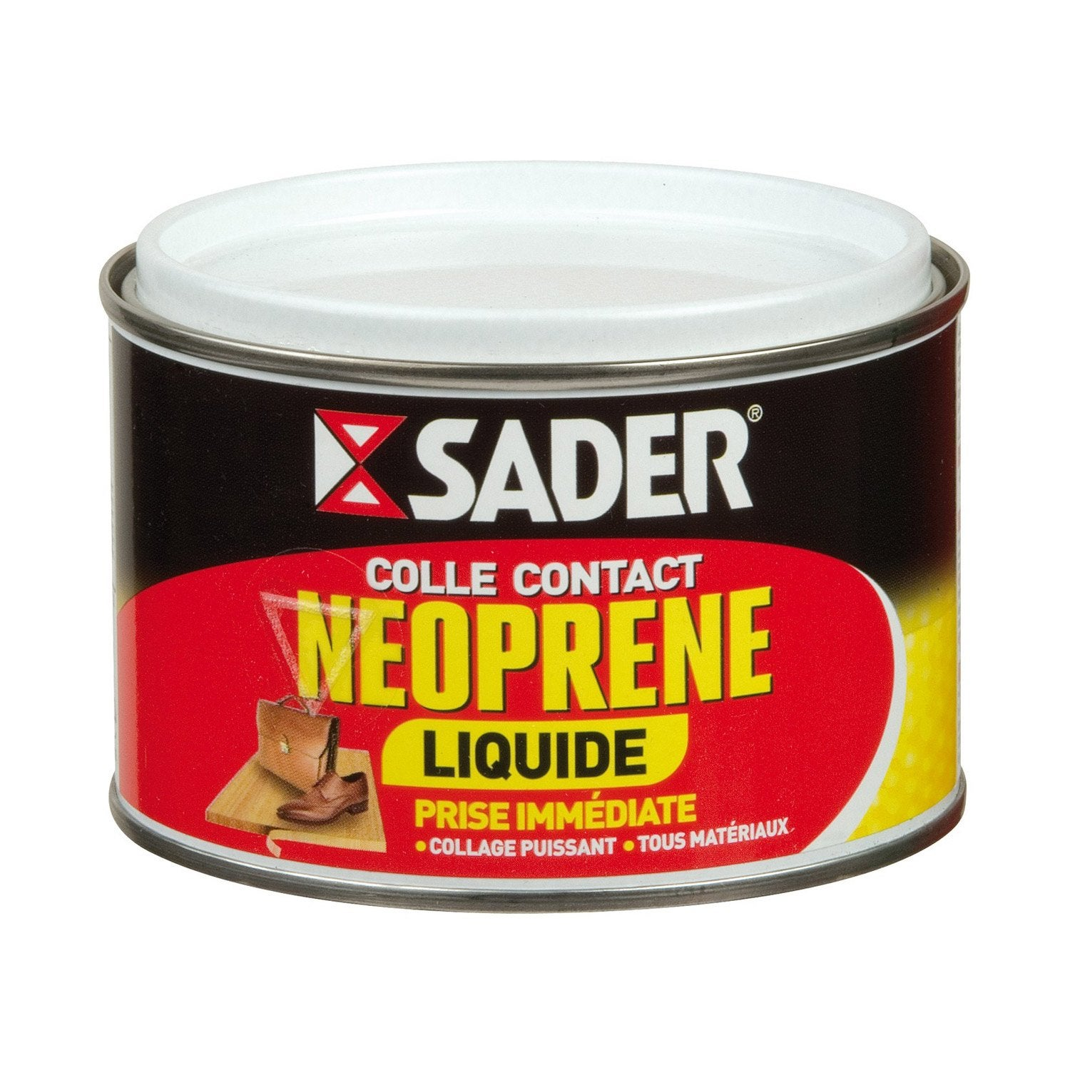 Colle n opr ne liquide multi usages sader 250ml leroy - Colle neoprene en bombe ...