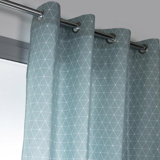 rideau tamisant antares bleu baltique x cm. Black Bedroom Furniture Sets. Home Design Ideas
