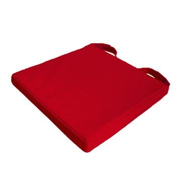 Galette De Chaise Newmona INSPIRE Rouge L40 X H40 Cm