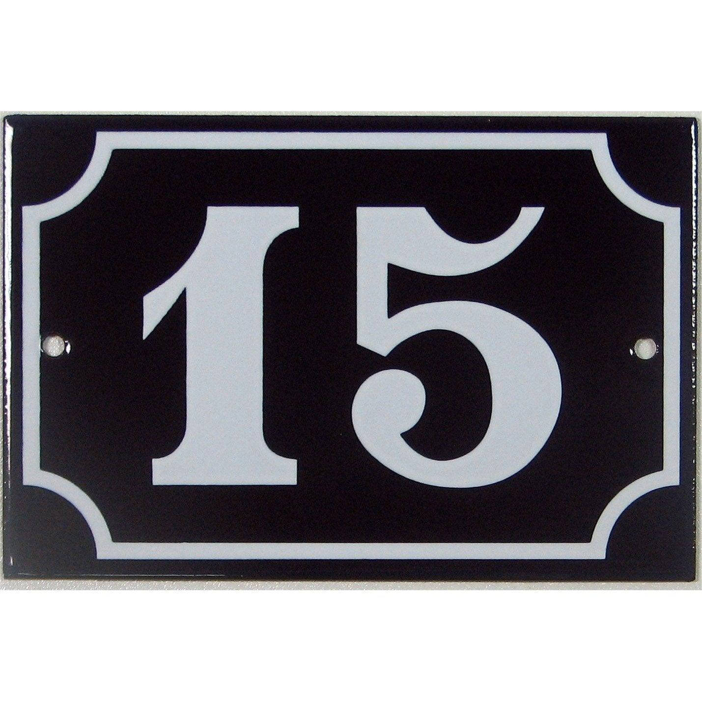 plaque 15 en acier leroy merlin. Black Bedroom Furniture Sets. Home Design Ideas