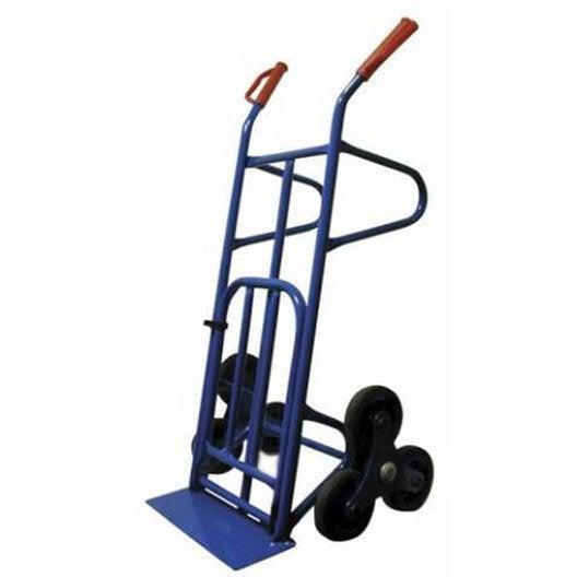 diable rigide acier charge garantie 250 kg leroy merlin. Black Bedroom Furniture Sets. Home Design Ideas