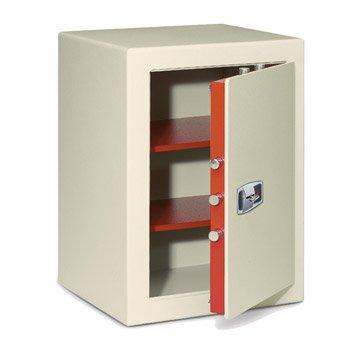 Coffre-fort haute sécurité à clé TECHNOMAX Sekur, H60xl43xP40cm, 85L