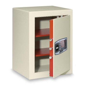 Coffre-fort haute sécurité à code TECHNOMAX Sekur, H60xl43xP40cm, 85L
