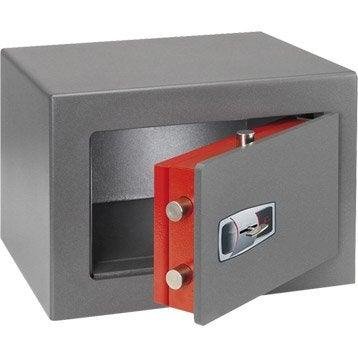 Coffre-fort ignifugé à clé TECHNOMAX Technofire, H28xl40xP35.5cm, 12.7L