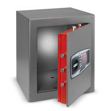Coffre-fort haute sécurité à code TECHNOMAX technofire Dpe/7p H49 x l43 x P43 cm