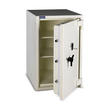 Coffre-fort haute sécurité à clé TECHNOMAX Professional, H100xl61xP61.5cm, 195L