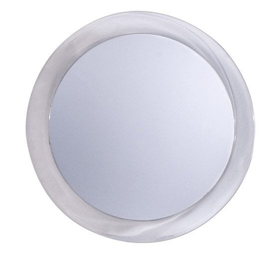 Miroir grossissant x 2 rond coller x x p 0 3 for Miroir rond eclairant