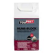 Enduit antihumidité poudre Humi' block TOUPRET, 5 kg