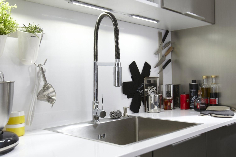 Des robinets qui changent votre cuisine
