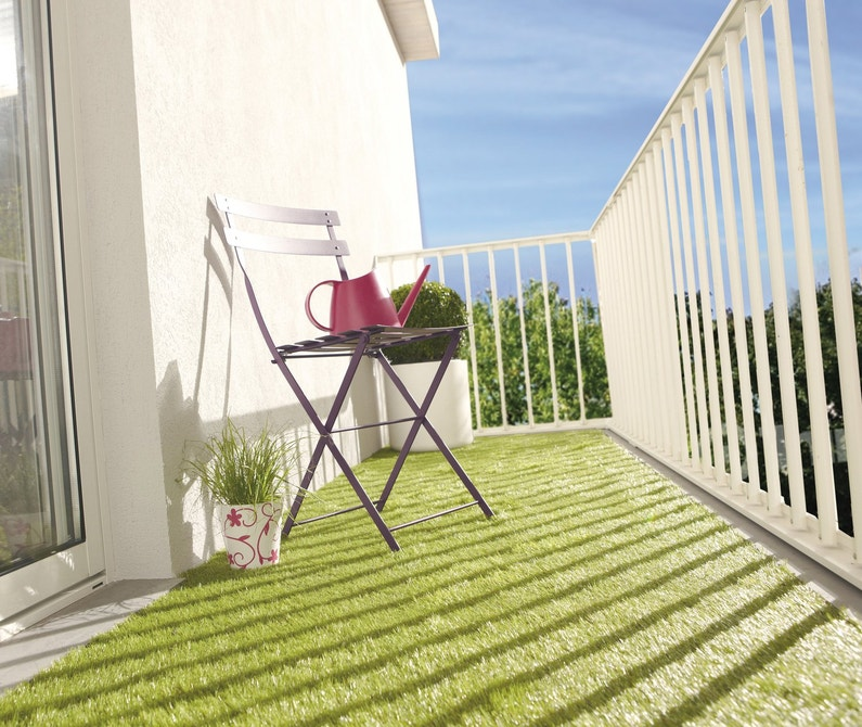 quand le balcon devient terrasse. Black Bedroom Furniture Sets. Home Design Ideas
