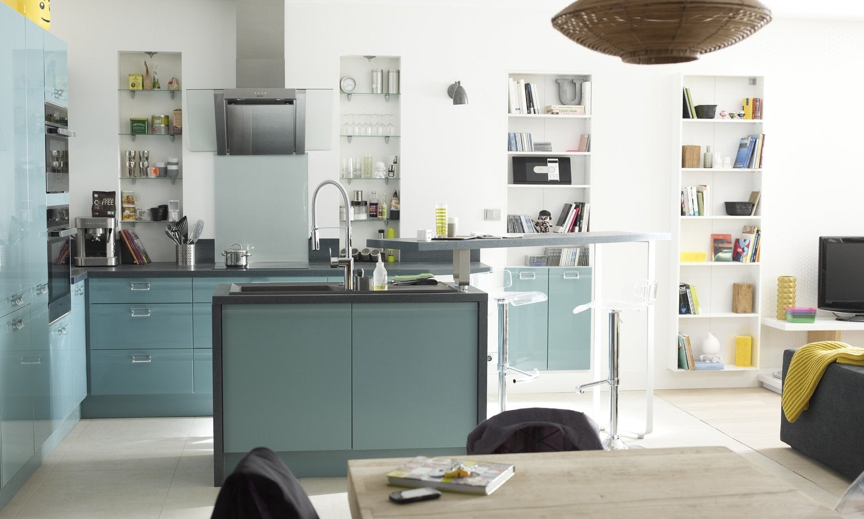 Meuble cuisine ilot meuble cuisine ilot central for Cuisine tout equipee prix