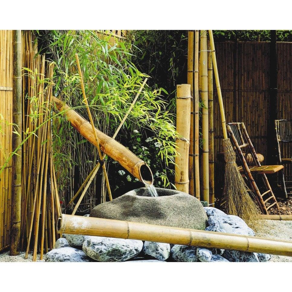Tuteur bambou droit NORTENE H.2.95 m   Leroy Merlin