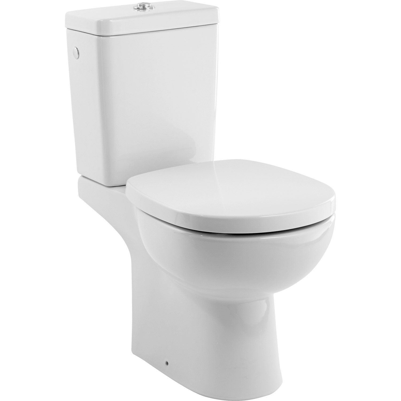 Leroy Merlin Wc Handicapé pack wc à poser sortie verticale, ideal standard idealsoft sans bride