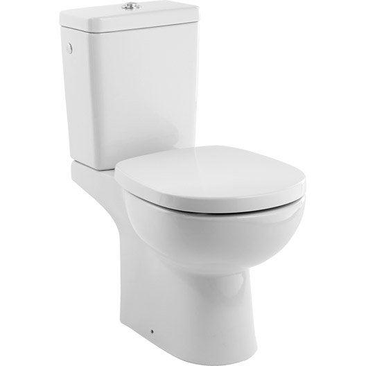 pack wc poser sortie verticale ideal standard idealsoft sans bride leroy merlin. Black Bedroom Furniture Sets. Home Design Ideas