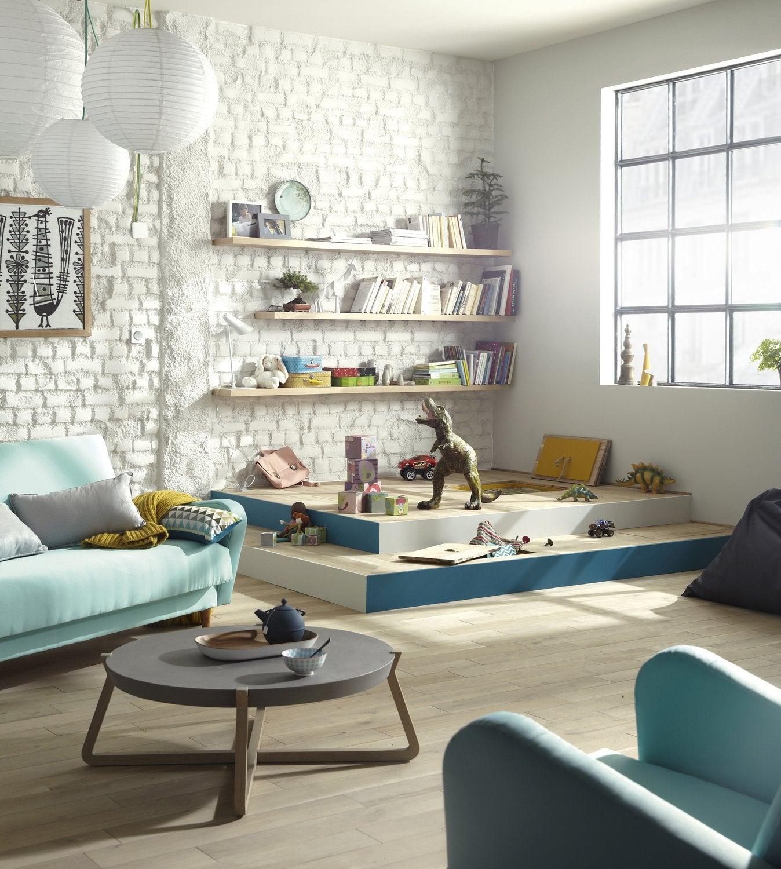 une estrade pour parents et enfants leroy merlin. Black Bedroom Furniture Sets. Home Design Ideas