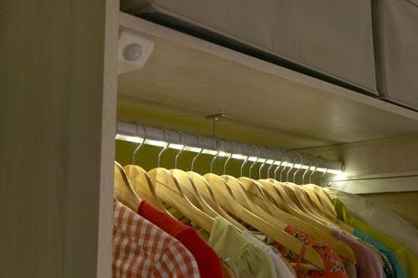 Les vêtements mis en lumière