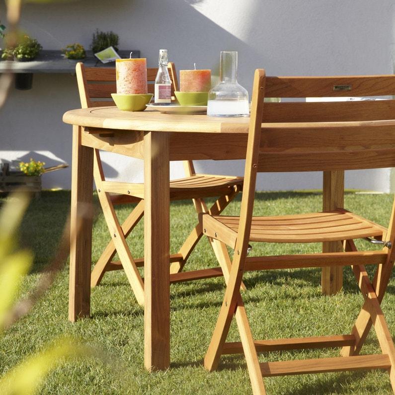 mobilier de jardin en bois vive l 39 authenticit. Black Bedroom Furniture Sets. Home Design Ideas