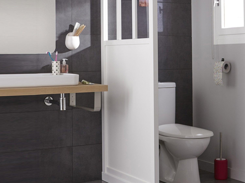 Les WC dans la salle de bains