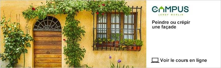 Cours - Peindre ou crépir une façade