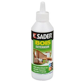 Colle à bois extérieur Spéciale matériaux SADER, 250g