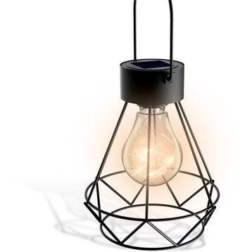 Lanterne solaire noir XANLITE