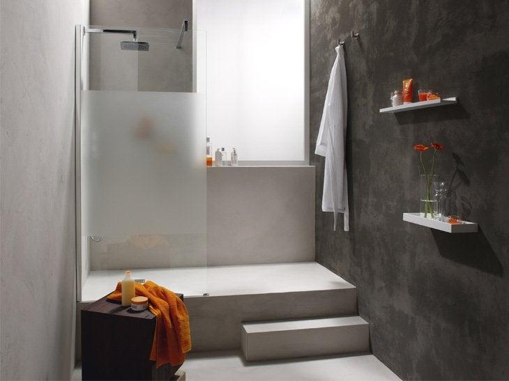 Douche l 39 italienne styles et tendances leroy merlin for Porte pour douche a litalienne