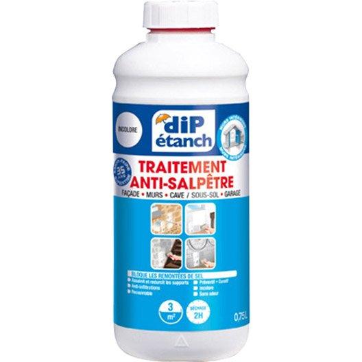 Traitement anti salp tre dip incolore leroy merlin - Traitement anti humidite ...