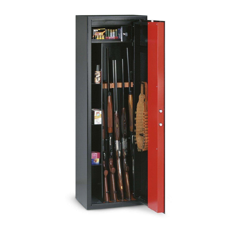 Armoire à Fusils à Clé 5 Fusils Technomax T705r H150 X L50 X P36 Cm