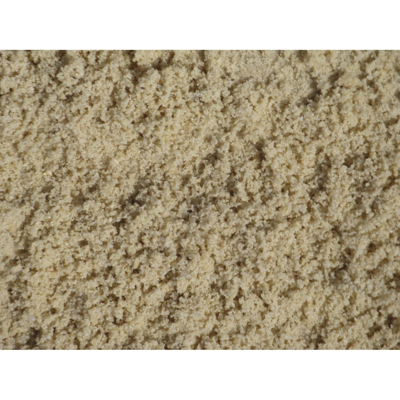 Sable Décoratif Pierre Naturelle Blanc Silice 0/2mm, 1 T