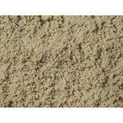 Sable décoratif silice en pierre naturelle, blanc, 0/2 mm, 1 t