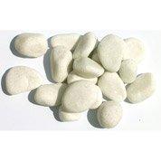 Graviers en marbre, blanc, 15/25 mm, 1 t
