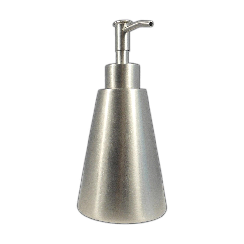 Distributeur de savon inox gris