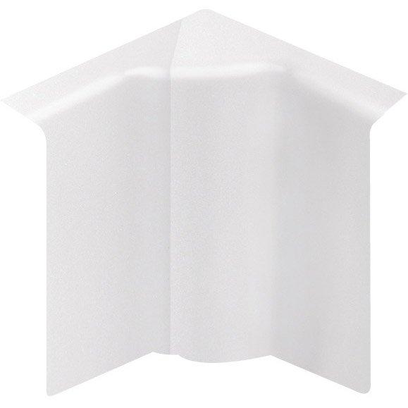 angle int rieur blanc pour plinthe h 10 x p 5 5 cm. Black Bedroom Furniture Sets. Home Design Ideas