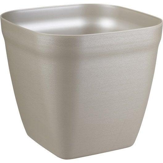 bac polypropyl ne r serve d 39 eau bhr blanc beige naturels leroy merlin. Black Bedroom Furniture Sets. Home Design Ideas