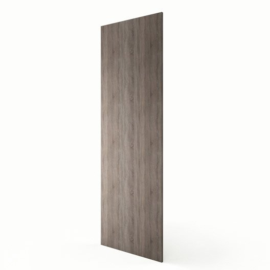 joue colonne de cuisine d cor ch ne havane joue colonne topaze x cm leroy merlin. Black Bedroom Furniture Sets. Home Design Ideas