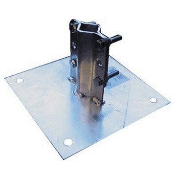 Plaque base pour mât METRONIC