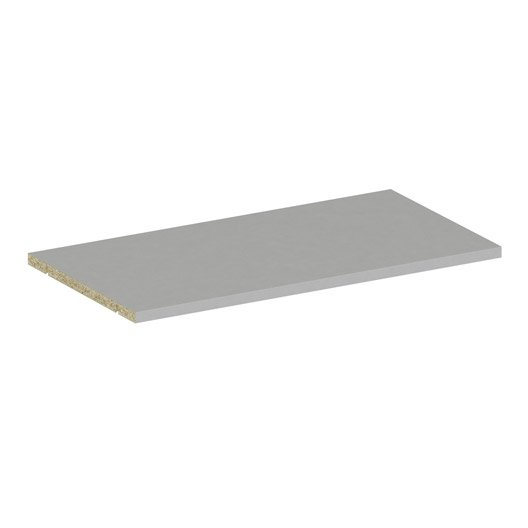 Tablette spaceo home 1 6 x 60 x 30 cm anthracite leroy - Tablette spaceo leroy merlin ...