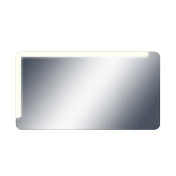 Miroir lumineux eclairage intégré, l.120 x H.65 cm, SENSEA Neo shine