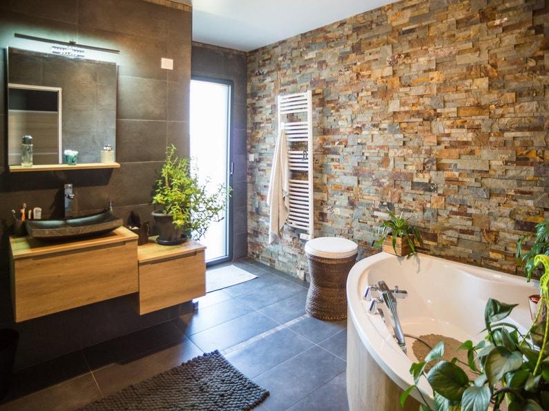 photo salle de bain zen et nature - la salle de bains nature et zen de christel inzinzac