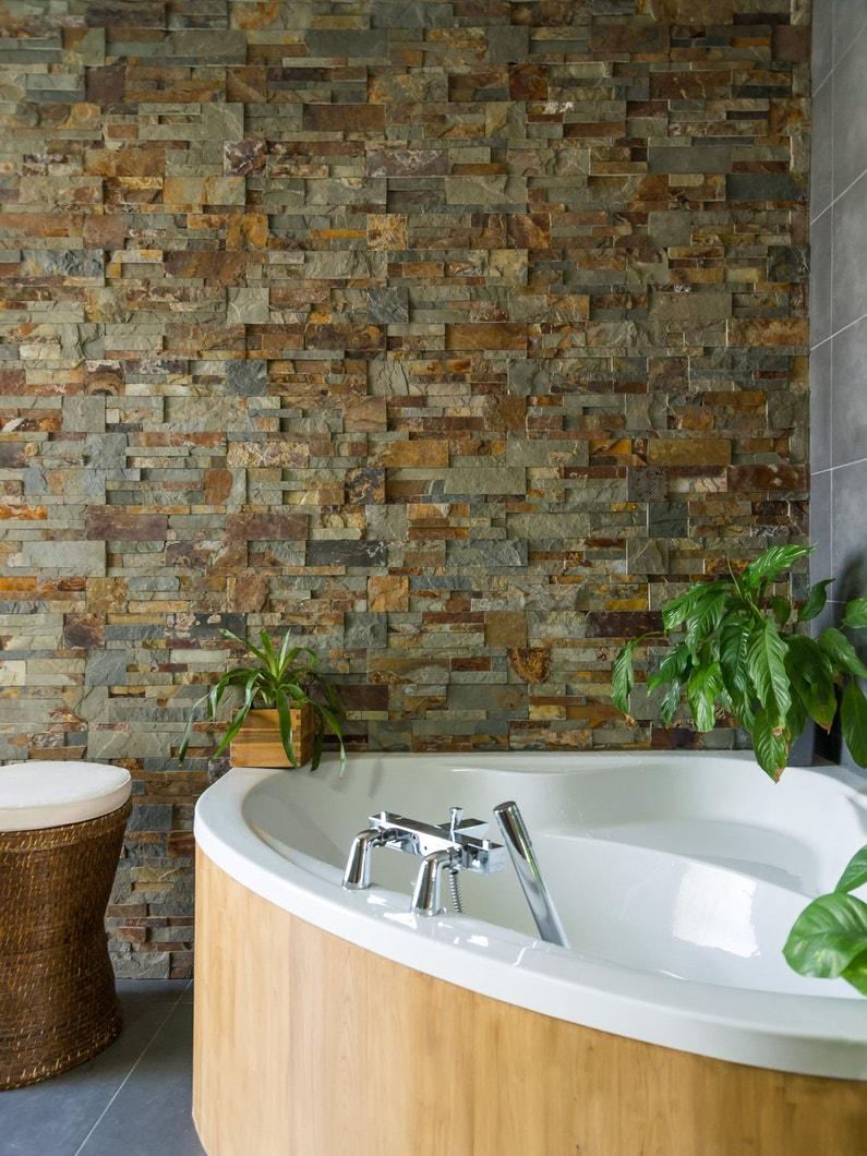 les parements m tamorphosent vos murs. Black Bedroom Furniture Sets. Home Design Ideas