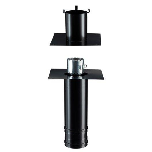 Kit r novation d part plafond krflc 80 130 pgi poujoulat d for Prix d un conduit poujoulat