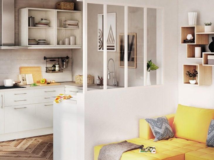 verri re sur mesure votre projet cl en main leroy merlin. Black Bedroom Furniture Sets. Home Design Ideas