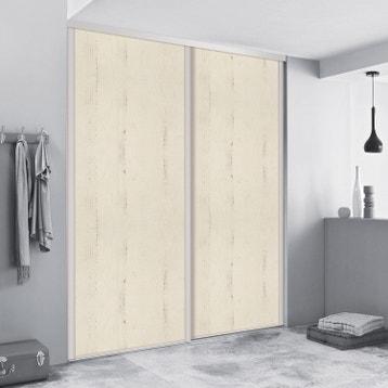 porte de placard coulissante sur mesure spaceo traditionnel de 35 60 cm - Porte De Placard Originale