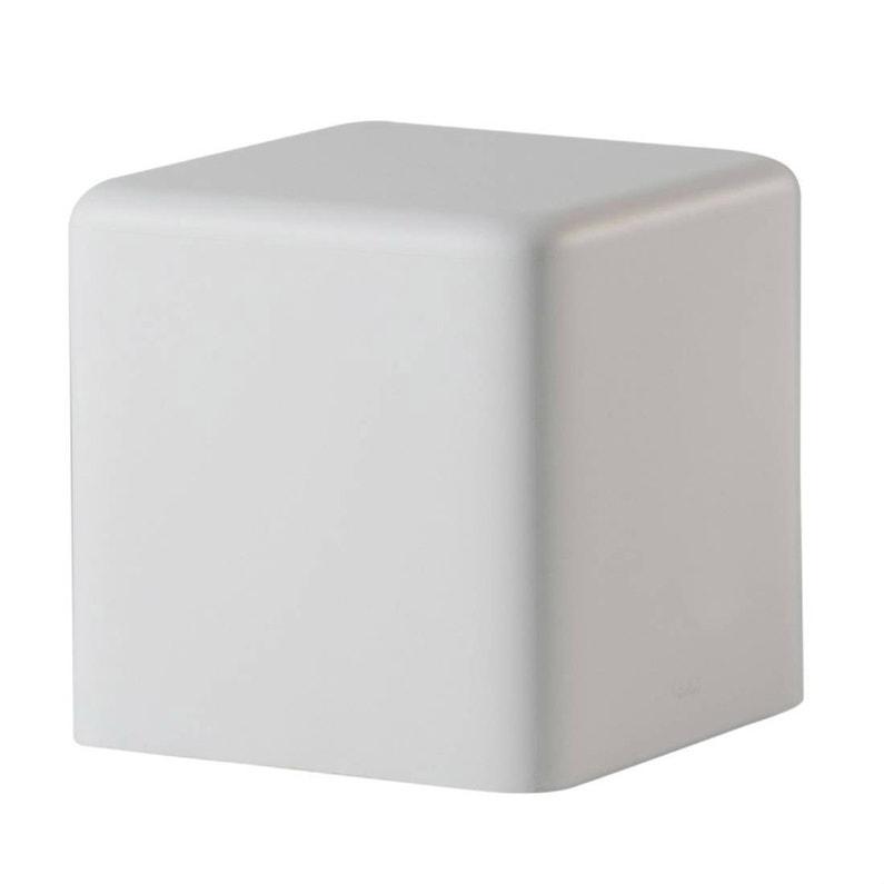 Lampe extérieure pouf lumineux max 15W blanc Soft cube SLIDE